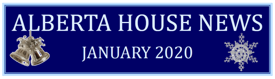 This month's Alberta House News is now available!