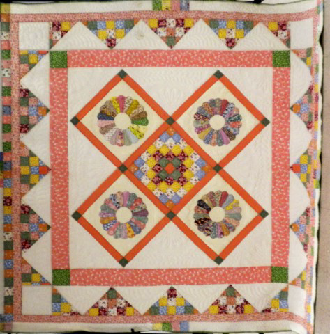 Queen-sized quilt to be raffled by the Presbyterian Church Women